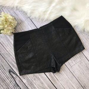 BCBGENERATION Shimmer Tweed Shorts 00770